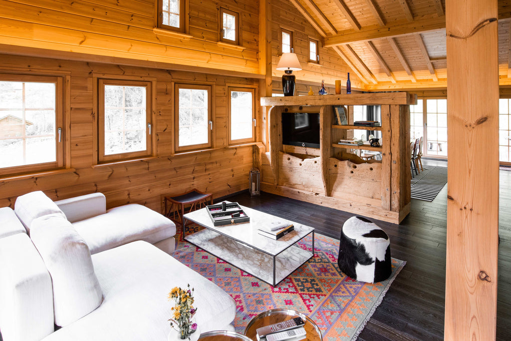 Chalet Gstaad Living Space