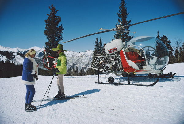 Helicopter Flight - Gstaad