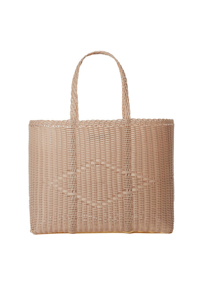 PALOROSA Basket Large Tote Bag powder