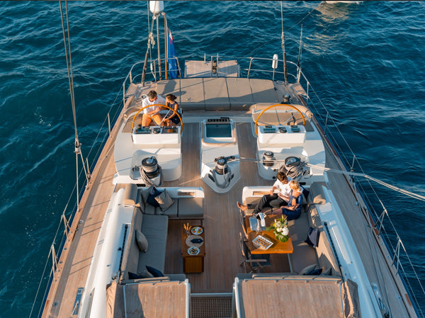 Luxury Crewed Sailing Yacht GRAND BLEU VINTAGE