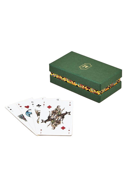 OKAPI Oracle Playing Cards green
