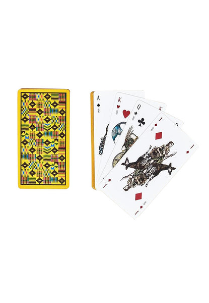OKAPI Oracle Playing Cards red