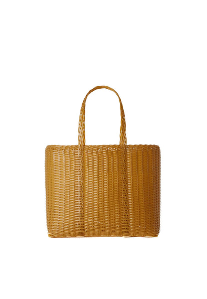 PALOROSA Flat Small Tote Bag tobacco