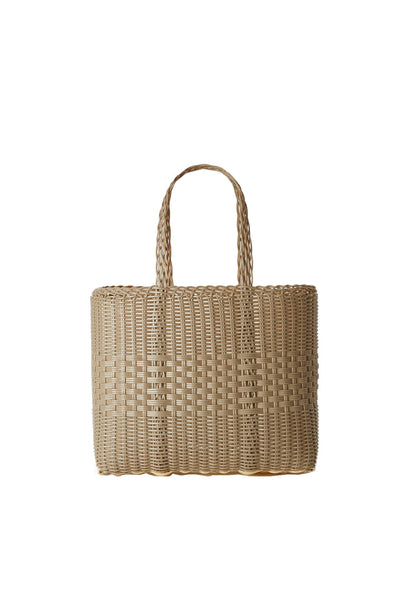 PALOROSA Lace Small Tote Bag sand