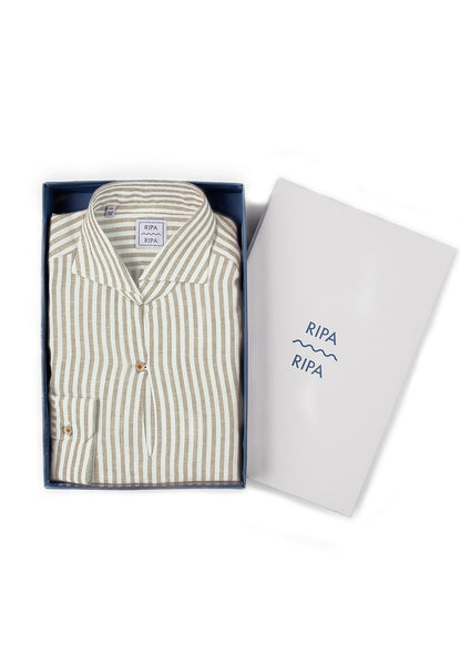 RIPA RIPA Capri Shirt sand stripes