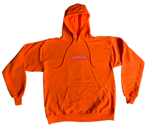 Koncrete Patch Hoodie Orange