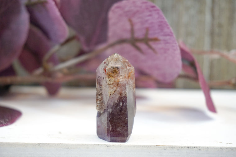 Polished Auralite 23 Point