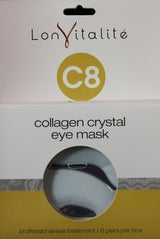 Lonvitalité C8 Collagen Crystal Eye Mask - (6pk) lon vitalite