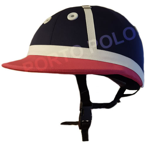 Custom Charles Owen Young Rider Polo Helmet