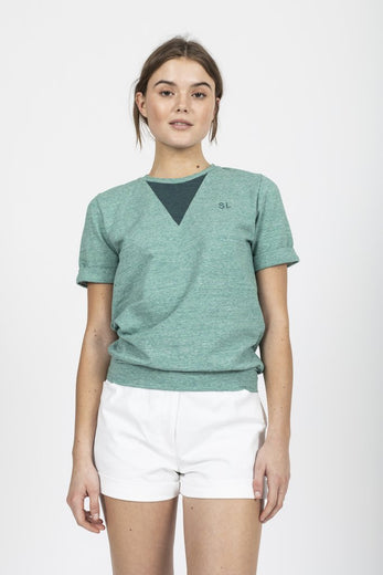 Sophia Lee Milo T-Shirt / Light green - Sophia Lee