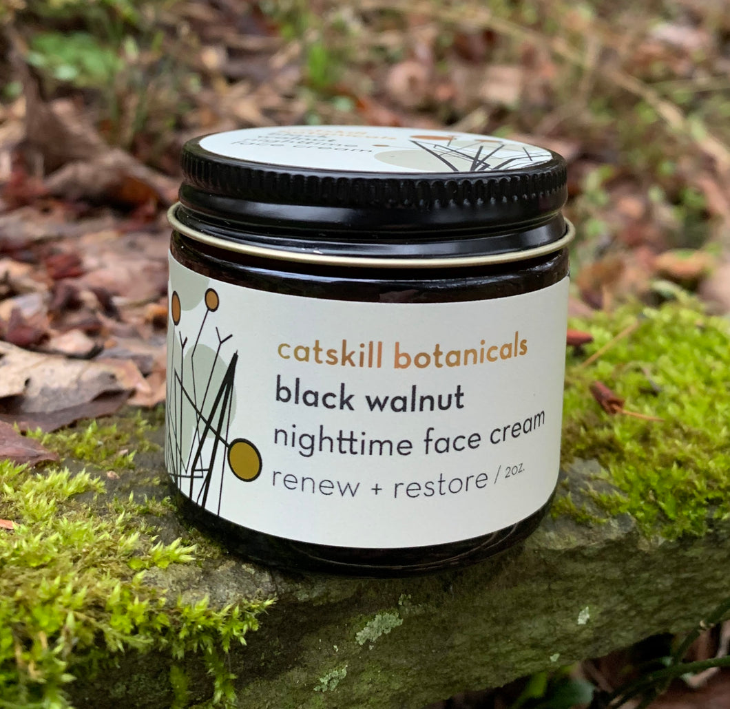 Black Walnut Nighttime Face Cream