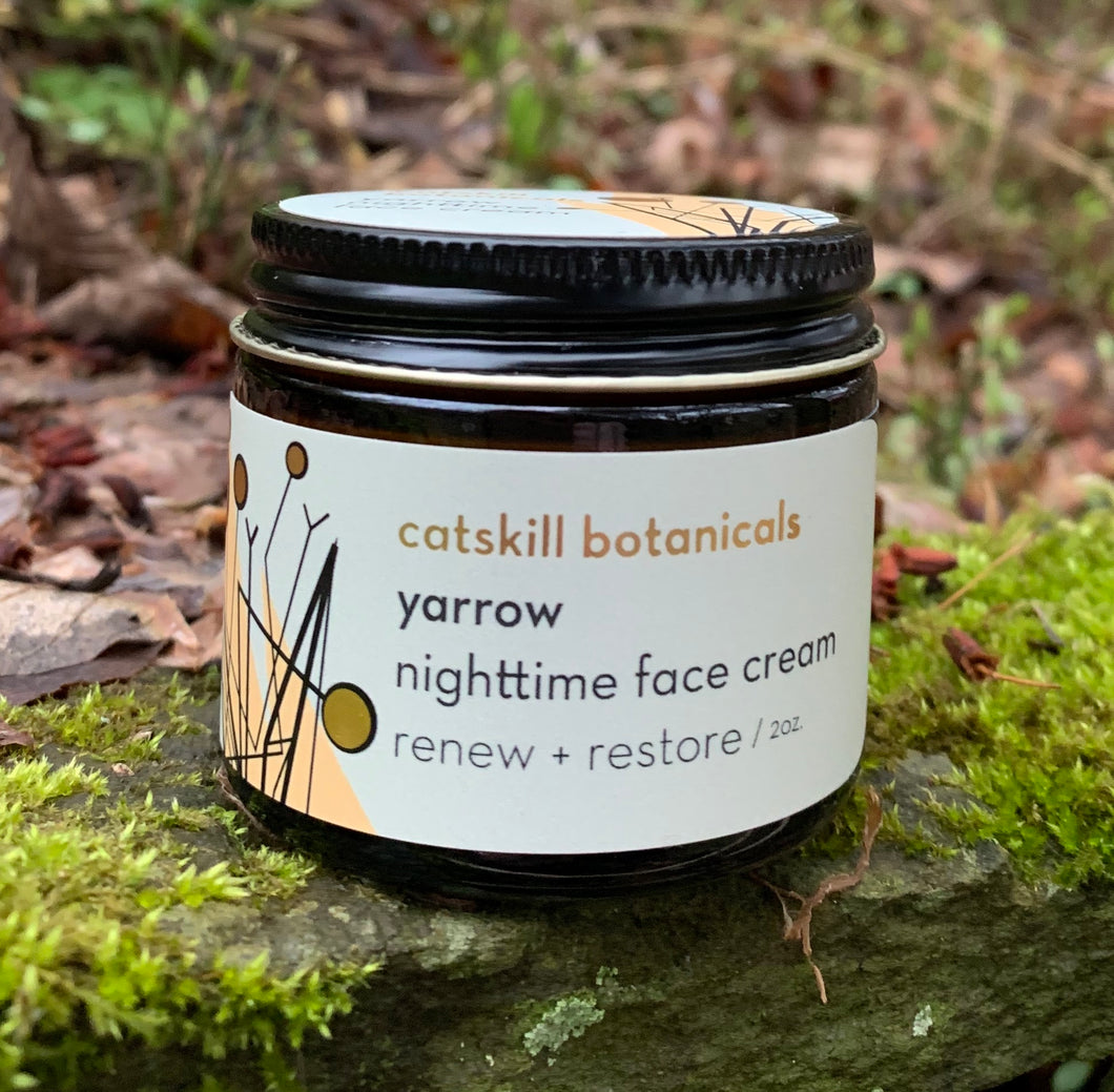 Yarrow Hazelnut Nighttime Face Cream
