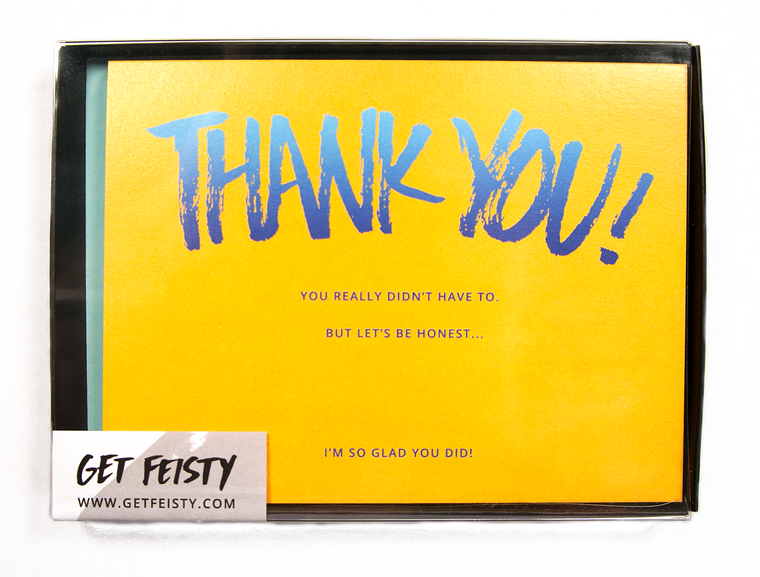 Thank You -You Didn't Have To (Set of 8)