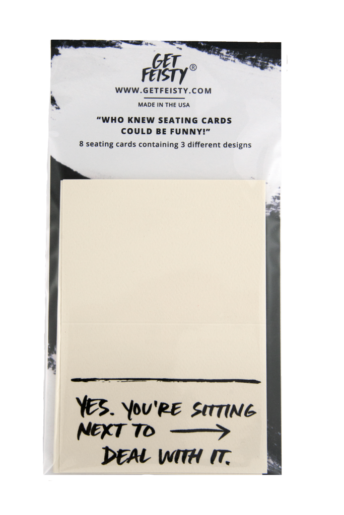 Seating Cards -Pack of 8 Sitting Next To