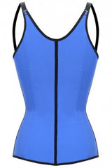 Waist Trainer Blue With Straps