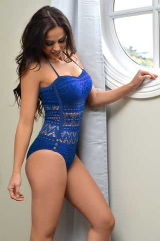 Carmel Blue Swimsuit