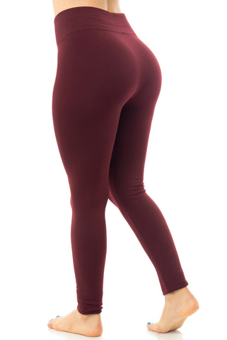 Leggings Burgundy