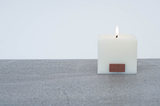 Porcelain White Luxury Candle from Sevin London