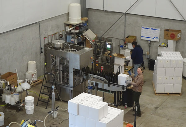 Bottling Holloran Vineyard Wines