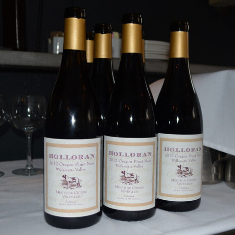 Holloran Vineyard Wines - Pinot Noir Bottles