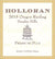 2015 Holloran Presse de Plus (Late Harvest Riesling) - 750 ml