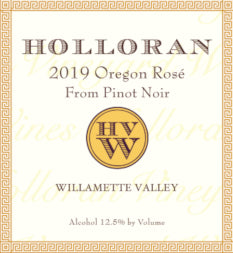 2019 Holloran Rosé of Pinot Noir