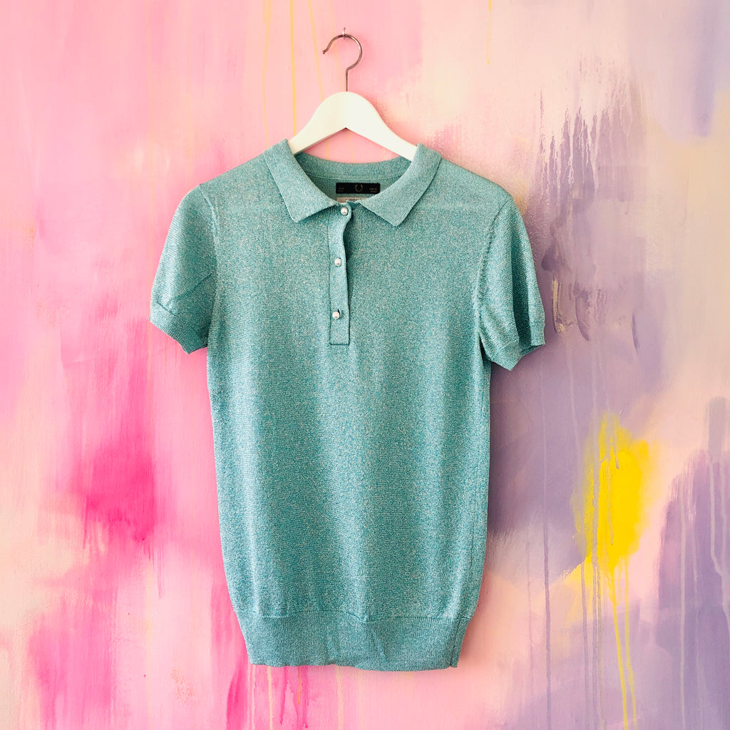 Lurex Polo, FRED PERRY, Gr. 38