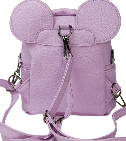 LAVENDER MICKEY EARS BACK PACK