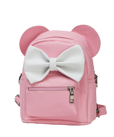 PINK MICKEY EARS BACK PACK