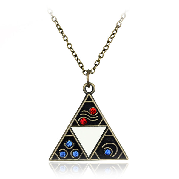 The Legend of Zelda Triforce Necklace