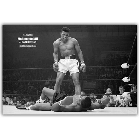 Boxing Posters Muhammad Ali Home Decor Art Posters  Using Silk Fabric Wallpaper - Zetig.com #1 Online Fashion Store for Men & Women