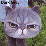 Women's Cute 3D Cat Face Canvas Shoulder Bag - Zetig.com #1 Online Fashion Store for Men & Women