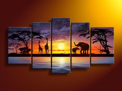 High Quality African Landscape Canvas