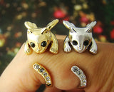 Cat Ring for Women Cute Animal Kitty Rings Christmas Fashion Jewelry - Zetig.com #1 Online Fashion Store for Men & Women