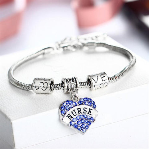 Christmas Gift European American Nurse Bracelet Pendant For Women - Zetig.com #1 Online Fashion Store for Men & Women