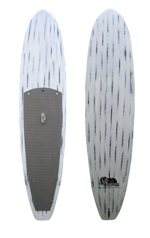 10'6 - 11' - 11'6 - 12' White Brushed Carbon All Purpose