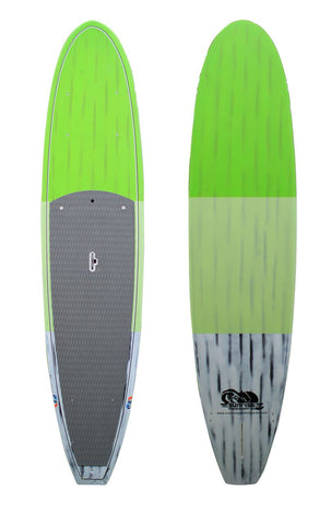 S09 Performance SUP Neon Green / White Brushed Carbon Available in 10'6, 11', 11'6, and 12'