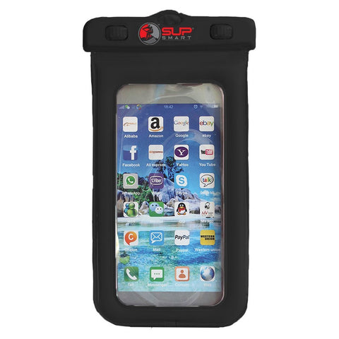 Phone / Dry Bag w Easy Lock Waterproof Floating Case, Universal (Iphone, Galaxy 7, etc) for all Water Activities. More....