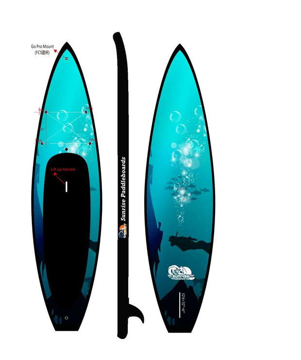 12' 6 Big Kahuna Blue Touring