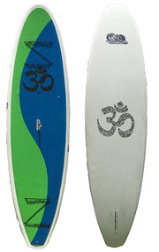 YOGA/FIT SUP Yin Yang Blue Green