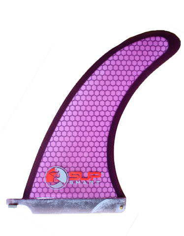 Honeycomb Stand Up Paddle Board Fin Purple