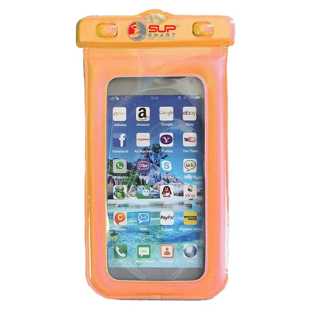 "Waterproof Phone / Dry Bag<br>*Easy Lock Case<br>*Universal - Fits Sizes 3"" - 6"""