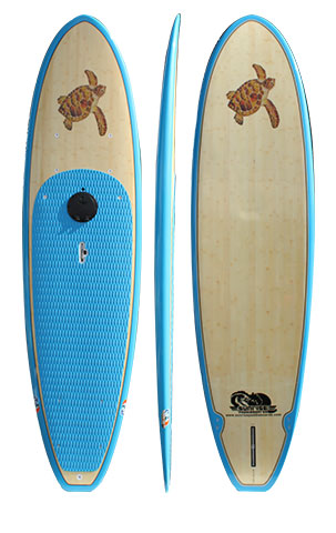 Tortuga Blue - Bamboo Extra Durable Multi-Purpose 10'6