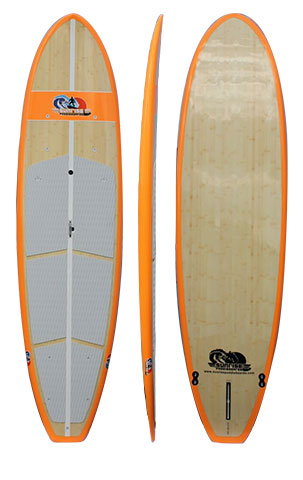Orange Navigator - Bamboo Top and Bottom All Purpose 12'