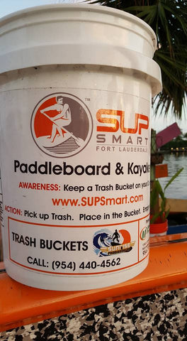 5-Gallon Bucket perfect for River and Beach Clean Ups. Start your own Waterway Cleanup Program. More.....