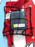 Cargo Net / Tie Downs 4 Rust Resistant Hooks - *Secures SUP Valuables - *See All Sizes