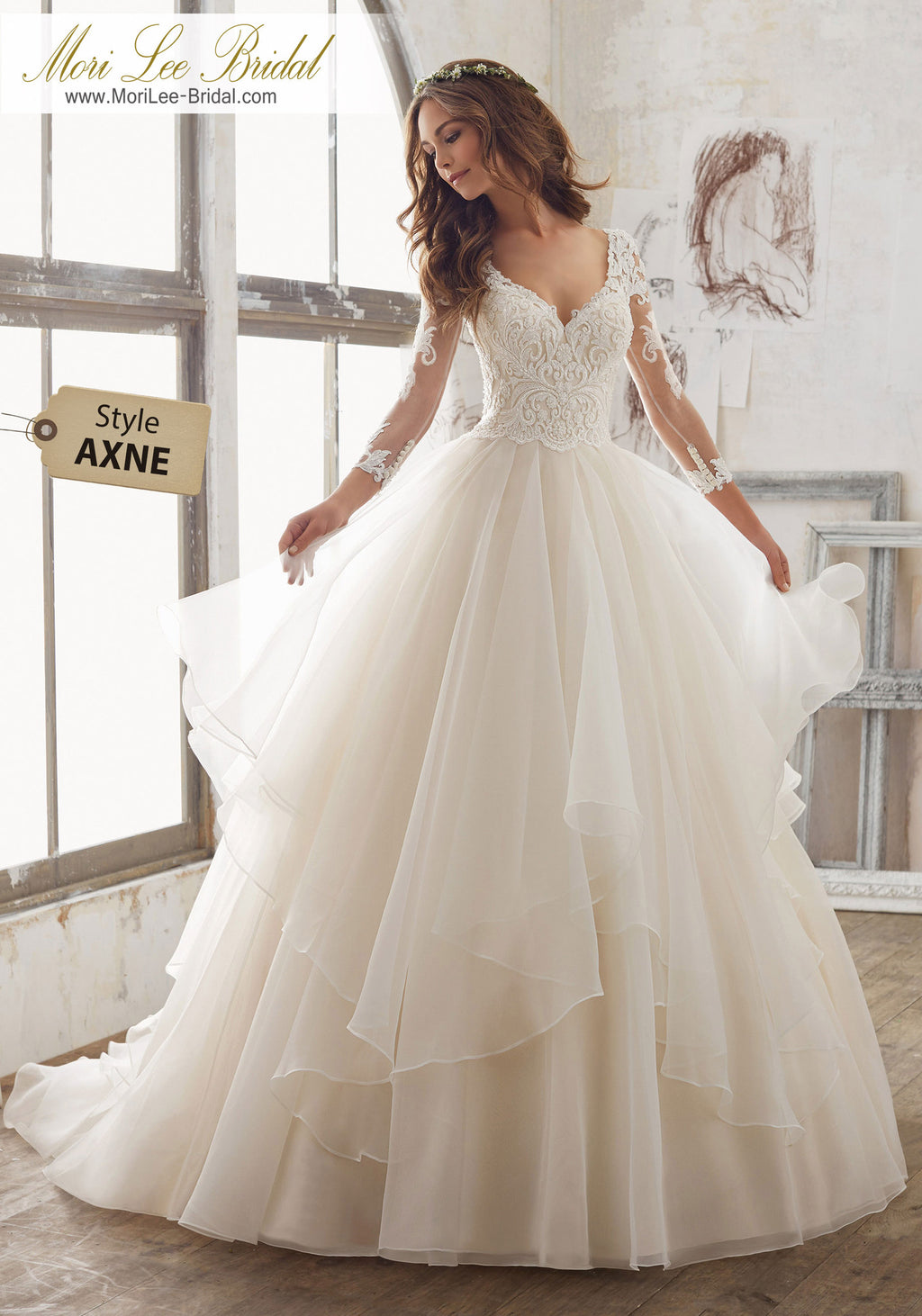 AXNE - Mori Lee Bridal