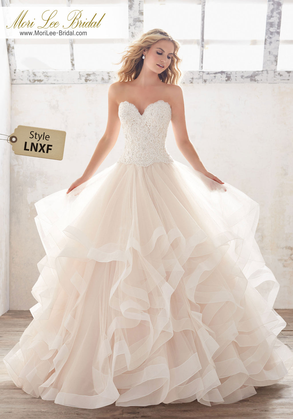 LNXF - Mori Lee Bridal