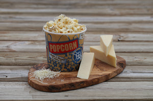 Buttery White Cheddar Popcorn