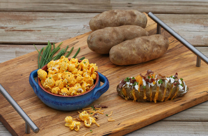 Loaded Baked Potato Gourmet Popcorn